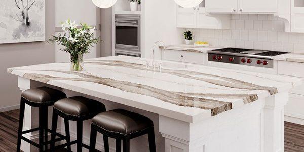 black cambria quartz countertops